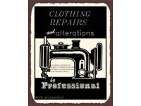 CLOTHING REPAIRS AND ALTERATIONS