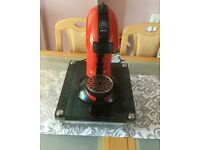 Dolce Gusto Coffee Machine and pod stand