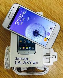 Samsung Galaxy Win GT-I8552 - White (Unlocked) Smartphone - Mint Condition