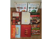 Cookbooks / recipe books / cookery books