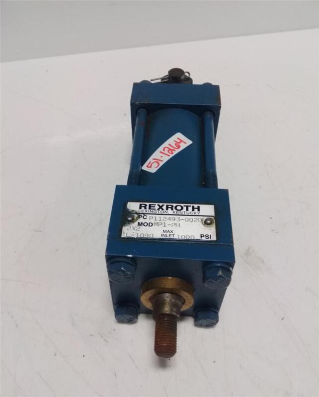 REXROTH PNEUMATIC CYLINDER 1000 PSI MP1-PH