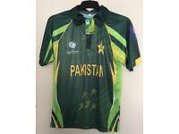 Pakistan Cricket Shirt 2013 Brand New ICC Champions Trophy 2017 England £8 Bargain!