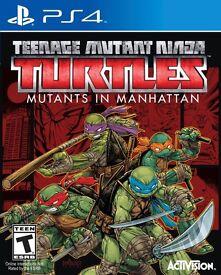 *EXCELLENT CONDITION* Teenage Mutant Ninja Turtles: Mutants in Manhattan PlayStation 4 Game
