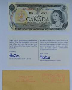 1973 Canadian $1 Bill, Uncirculated London Ontario image 1