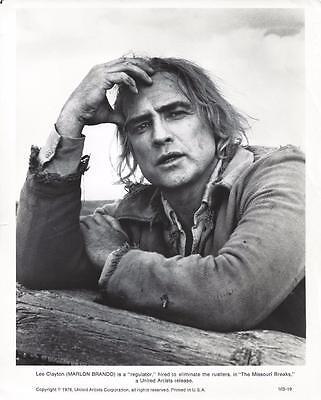 "Marlon Brando, ""The Missouri Breaks"" 1978 Vintage Movie Still"