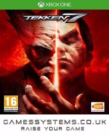Get Tekken 7 on Xbox One & PS4 Brand New for just £41.48p!