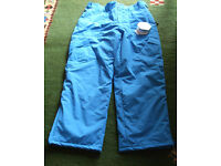 """Ski Pants/Trousers - Brand new with tags - 38"""" - 42"""" waist"""