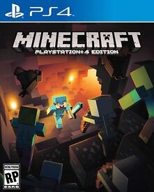 MINECRAFT For PS4 (BRAND NEW & SEALED) ONLY £15.00