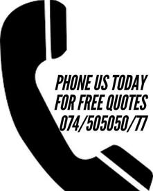 MAN AND VAN HIRE CALL NOW 074-505050-77
