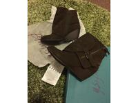 Blowfish brown boots size 5