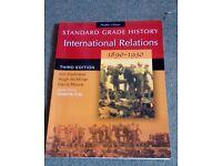 Standard Grade History International Relations 1890-1930