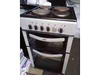 BELLING FSE50TCS FREESTANDING ELECTRIC DOUBLE OVEN COOKER - 50CM