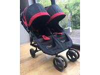City mini jogger . Baby jogger . Citi mini like phil and ted . Twin Double buggy. Pram. Pushchair
