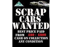 ♻️scrap my car van 4x4 for cash spares or repairs broke ♻️