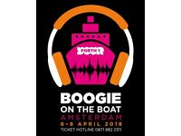 1 x Boogie on the Boat Ticket