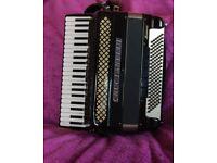 Crucianelli Accordion 41 Treble keys and 120 bass