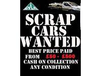 ♻️we want your cars vans cash paid scrap spares or repairs♻️