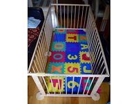 Wooden Baby Playpen (Free Combination 6 Sides)