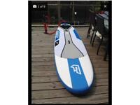 "Fanatic 10"" inflatable paddle board isup"