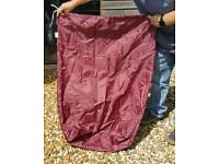 Various drawstring bags