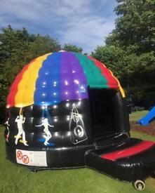 Large Disco Dome Bouncy Castle