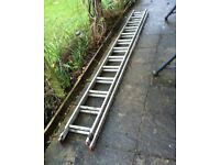 Double Extension Ladder 13 Rungs - for sale - bargain £ 65 ovno