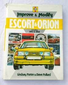 Ford Escort and Orion mk 3 mk 4 tuning book