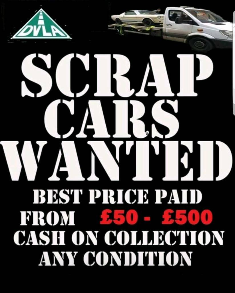 SCRAP CARS WANTED BEST PRICES PAID   in Cookstown, County Tyrone ...