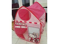 Hello Kitty fold up playhouse