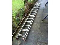 Double Extension Ladder 13 Rungs - for sale - bargain £ 59 ovno