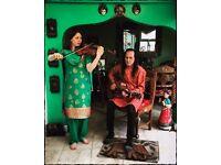 Violinist Violin Player Bollywood World Improvisation - as seen on Notts TV