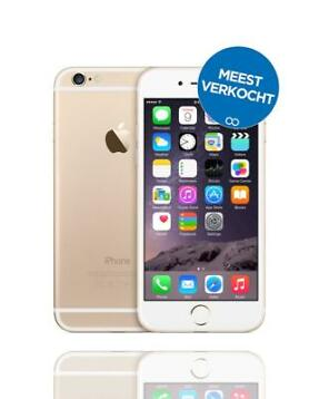 Een refurbished iPhone 6 Gold 64GB met 2 jaar garantie!