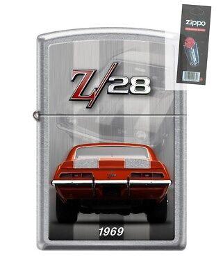 Zippo 4152 Chevy Camaro Z 28 1969 Street Chrome Finish Light