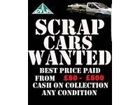 ♲♲ Scrap cars wanted ♲♲