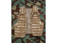 NEW - British Army Desert Issue - MOLLE Tactical Ops Vest