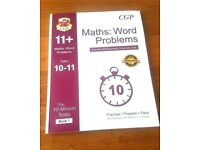 CGP 11+ The 10-Minutes Test Maths Word Problems Book 1 with Answers