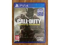 PS4 Call of Duty Infinite Warfare New & Sealed (PlayStation 4)
