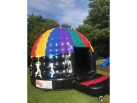 Standard Disco Dome Bouncy Castle