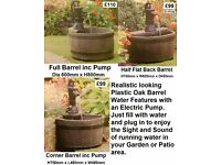 Water Features self Contained also Ponds and Pumps