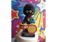 Robertsons Golly Drummer - original pottery figure VGC