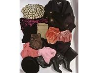 Bundle of clothes and shoes size 14 - 16