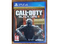Call of Duty Black Ops 3 Gold Edition PS4 perfect condition