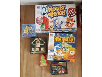 Job lot six games- Frustration, Mouse Trap, Da Vinci Code, The World, Mousie-Mousie, playing cards