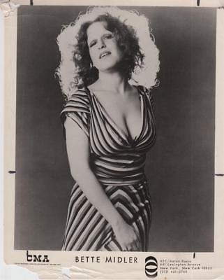 Bette Midler Vintage Movie Still