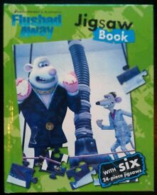 'Flushed Away' Jigsaw Book (unused)