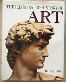 The Illustrated History of Art. Hardback