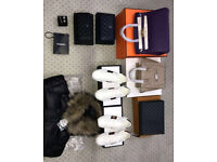 CHANEL HERMES LOUIS VUITTON AND YSL BAGS with belts and birkin neverfull