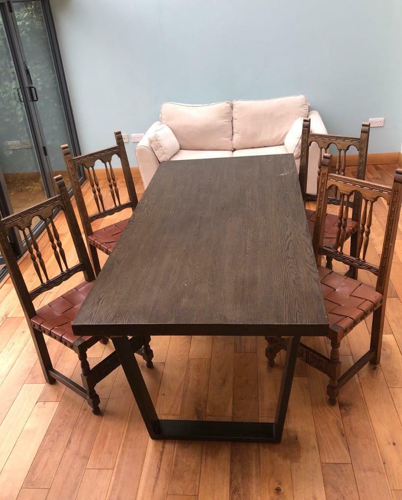 john lewis calia extending dining table  in woodstock