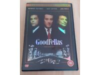 Goodfellas Special edition and The Untouchables DVDs