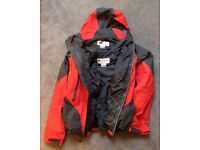 Columbia skiing clothes (jacket, lining, trousers, excellent condition)
